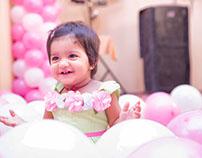 Little baby Bhavya's birthday photography