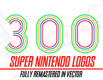 300+ Super Nintendo Logos Fully Remastered