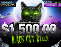 Lotto cards-Black Cat Bills