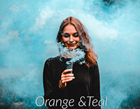 Free Orange And Teal Preset For Lightroom