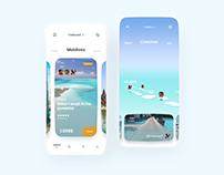 Travelling App Design