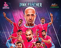 Jaipur Pink Panther Pro Kabaddi 2016 Redesign