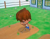 Mi pueblo_Game Art _ 3D Test_3