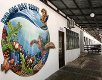 Redang Bay Resorr Graffiti