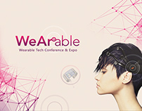 Print and web for WeArable Exhibition