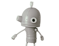 Machinarium models for 3D printing