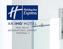 Instagram posts for Holiday Inn Express VOL.1