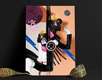 The Rebel — Collage Illustration