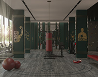 Fitness Gym- Highcrest Hotel Sulaymaniyah -Iraq