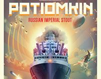 Raduga Potiomkin Beer Label