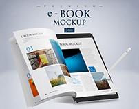 e-Book Mockup PSD