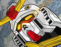 RX-78-2 Gundam Poster Art