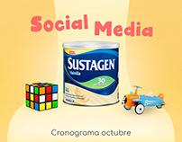 Sustagen - Social media Halloween