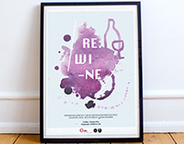 REWINE // Poster