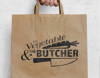 The Vegetable & The Butcher Logo
