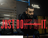 NIKE: Just Don't Quit - Zaur Dzhavadov