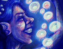 The Mermaid & the jellyfish