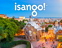 Isango website redesign