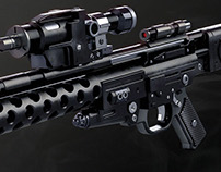 DLT-20A laser rifle