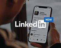 Linkedin App Concept