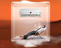 Air conditioning campaign | Manipulation project