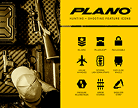 Plano Hunting & Shooting Feature Icons