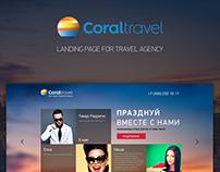 Coral Travel Landing