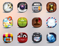 Skeuomorphic Icons Design