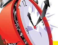 Times Management Illustration