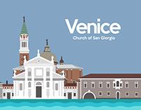 Cityscape of Venice,Italy