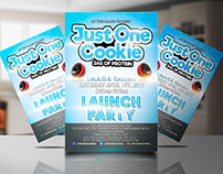 Launch Party Event - Flyer