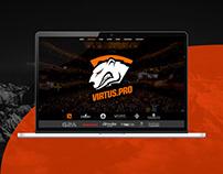 Virtus.pro fun website, фан сайт виртус про