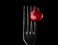 Cherry On Fork