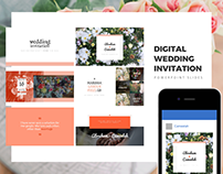 wedding invitation | digital wedding invitation