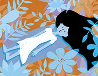cover illustration for IKAR magazine