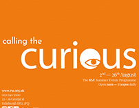 Curious - RSE Summer Events programme