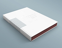 A4 Book Mockup Thin Spine