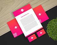Free Elegant Stationery Branding Mockup 2018