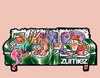 Sushi Couch - Zumiez Air Freshener