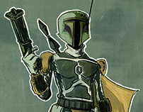 Weekly Sketchbook - BOBA FETT