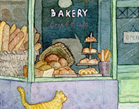 Speed Drawing - Bakery
