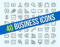 40+ Best Business & Finance Icons for Outstanding Desig