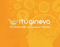 İTÜ Ginova - Branding, UI & UX Design