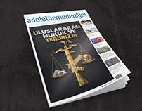 adaletvemedeniyet Magazine Cover Design