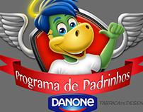 Mascot design Danone