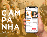 Campanha digital Ângela Casagrande