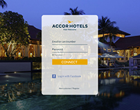 Daily UI 001 - Sign in redesign Accor Hotels