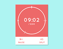 DailyUI 014 - ‎Count down timer