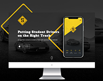 Student Drivers-Website design