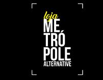 Identidade Visual da Loja Metrópole Alternative.